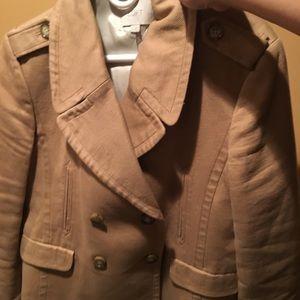 Tan Women's Ann Taylor Loft Jacket